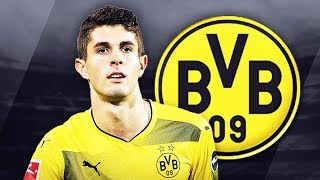 CHRISTIAN PULISIC - Sublime Skills, Runs, Goals & Assists - 2017/2018 (HD)