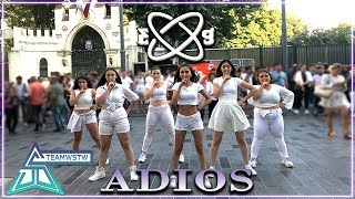 [KPOP IN PUBLIC TURKEY] EVERGLOW(에버글로우) - Adios Dance Cover [TEAMWSTW] Video
