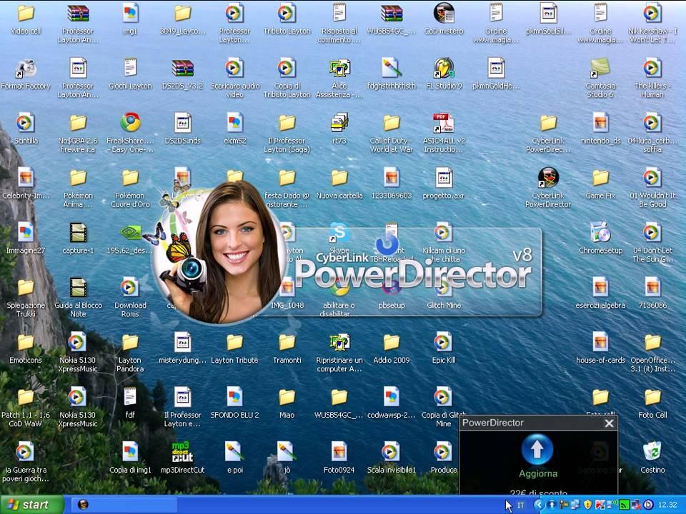 cyberlink powerdirector 8 free software