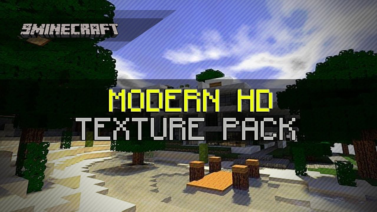 Modern HD Texture Pack for Minecraft 1.6.2/1.6.1/1.5.2 - YouTube