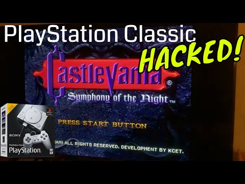 PlayStation Classic HACKED! Add More Games!