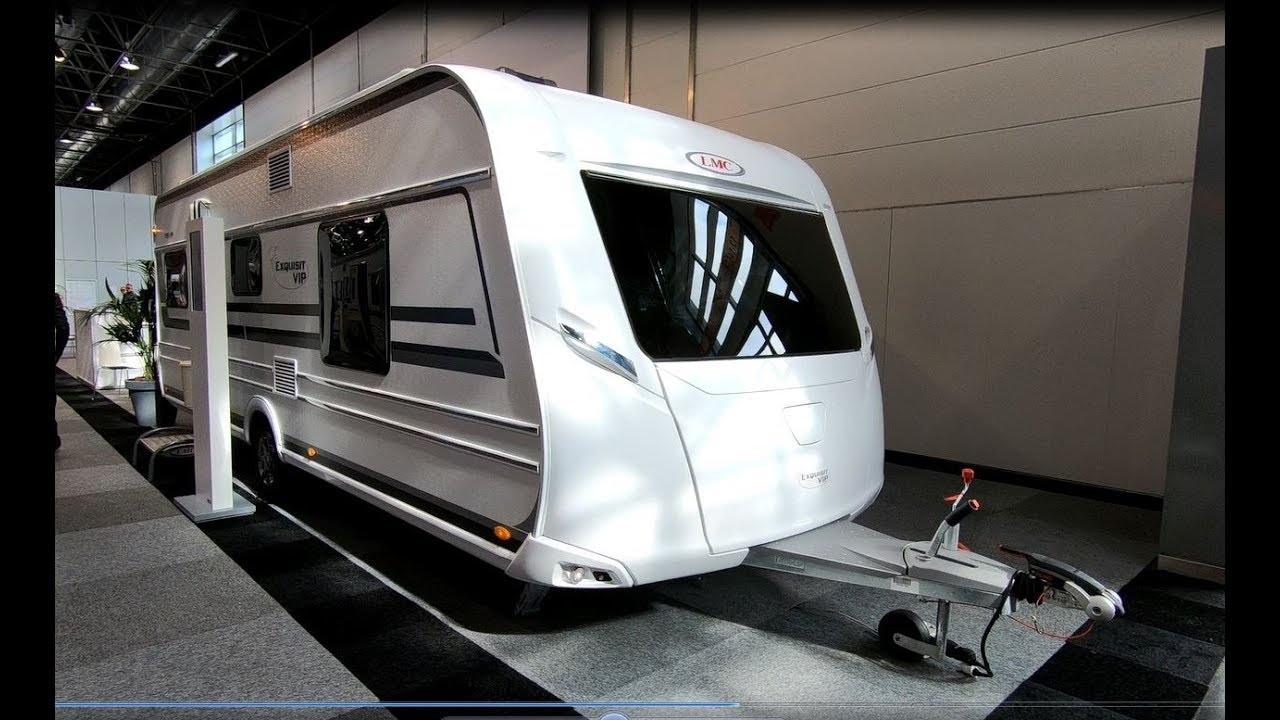 LMC EXQUISIT 595 VIP 2019 CARAVAN CAMPING TRAILER WALKAROUND + INTERIOR