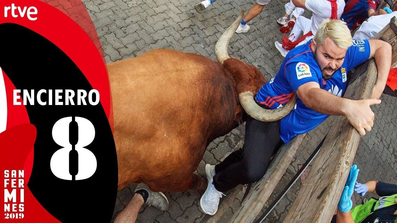 Download ÚLTIMO ENCIERRO de Sanfermines 2019 | Toros de Miura | San Fermín 2019