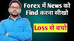 How to find forex market news   Importance of News in Forex Trading   Forex Trading Guide   TubeGuru