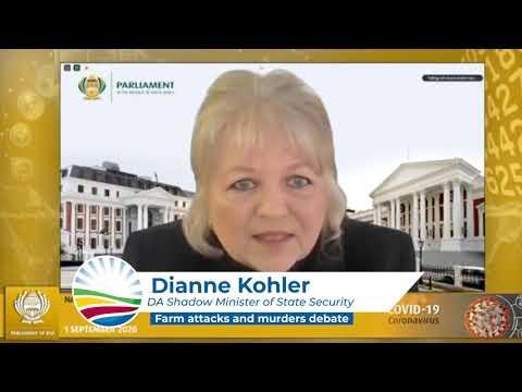 🚜| WATCH the DA leading a debate in Parliament on farm attacks.