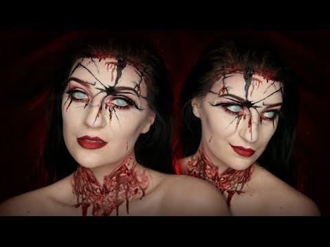 Bloody Mary Makeup Tutorial   Madalyn Cline