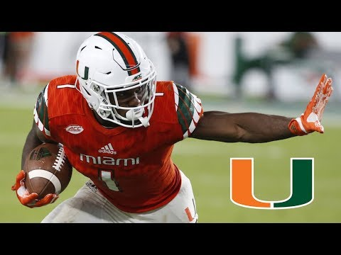 Mark Walton || Miami Highlights || Best Running Back in the ACC