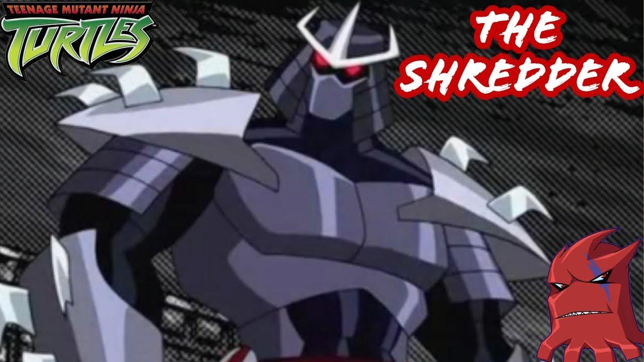 The Shredder Tmnt 2003 A Deeper Look Demon Shredder Ch