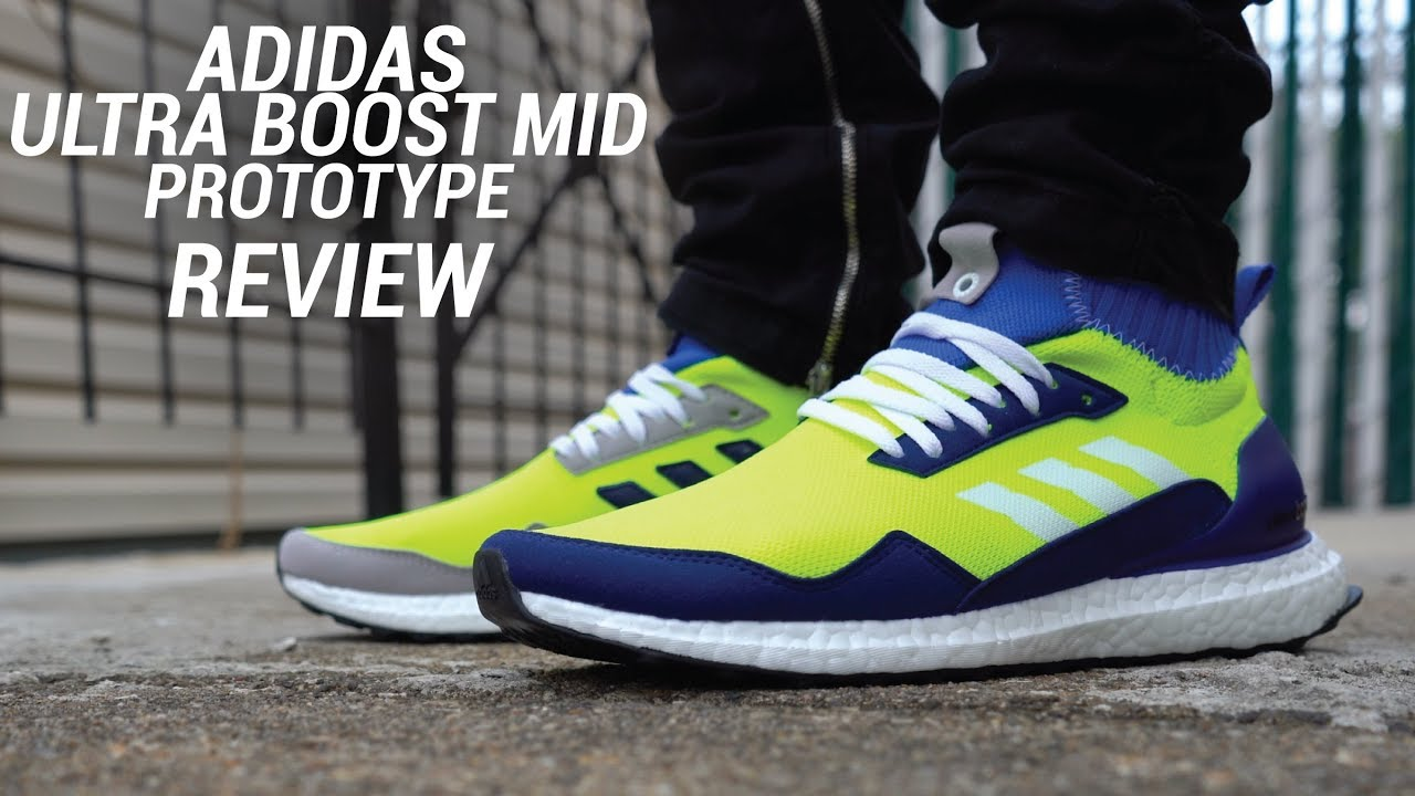 ea6353613656c ADIDAS ULTRA BOOST MID PROTOTYPE REVIEW - YouTube