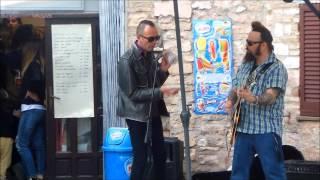 Gene Crazed & Pat Pend  Folsom Prison Blues + Chicken Walk