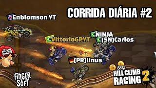 CORRIDA DIÁRIA #2   Hill Climb Racing 2