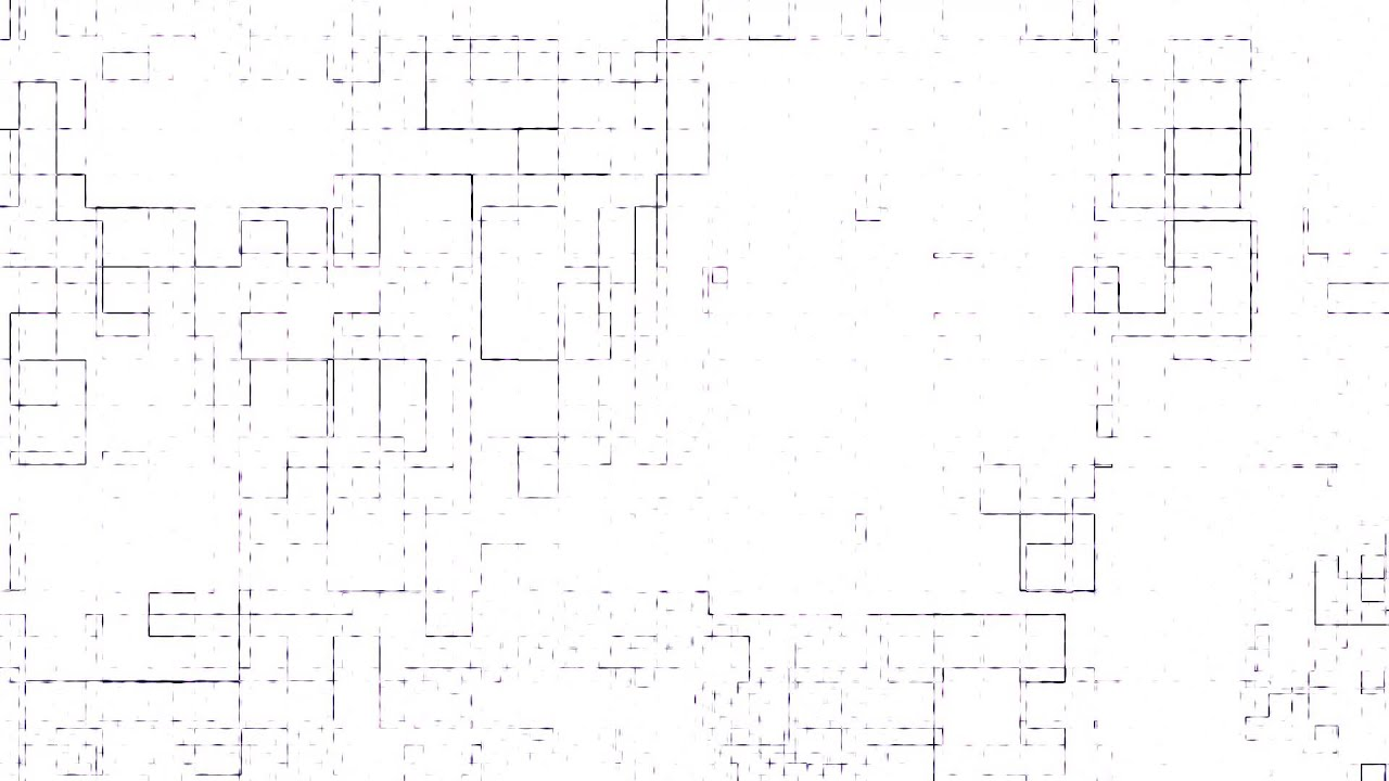 Cyber Background ANIMATION FREE FOOTAGE HD White Abstract Square Texture