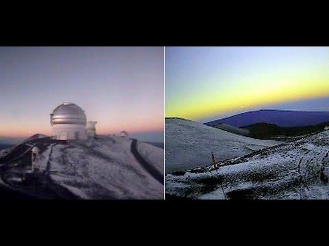 Snow June 2016: Hawaii, Mexico, Ukraine, California, New Hampshire, Alaska, China Almost Summer