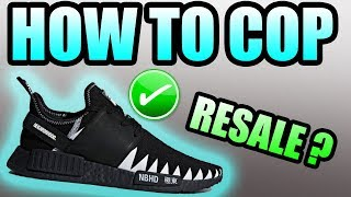 How To Get The NEIGHBORHOOD X ADIDAS NMD R1 PK ! |Adidas Neighborhood NMD R1 PK Release Info