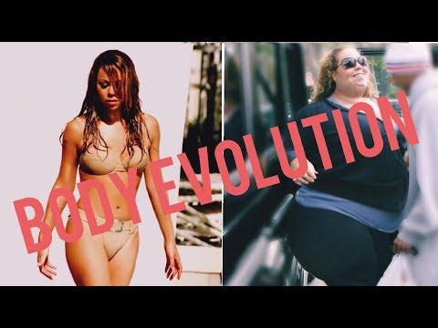 Mariah Carey - BODY EVOLUTION! (1990-2018)