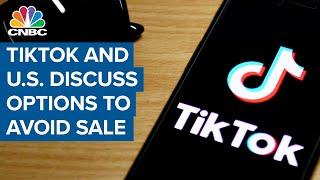 TikTok and U.S. discuss option…