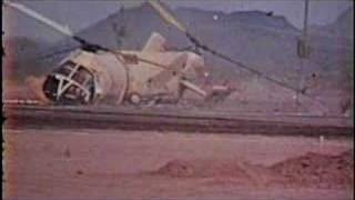 H21 Helicopter Controlled Crash Tests (video only)