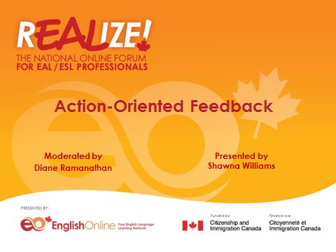REALIZE 2015 Forum - Action-Oriented Feedback