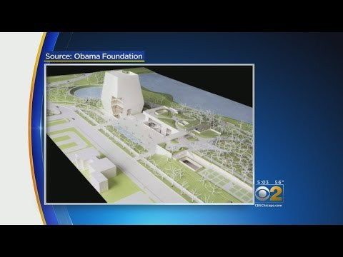 The Obamas Unveil Plans For The Obama Presidential Center In Jackson Park