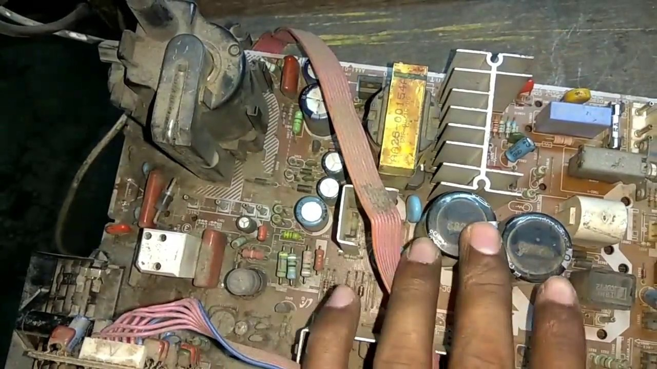 how to work str5q0765rt in crt tv power supply [ 1280 x 720 Pixel ]