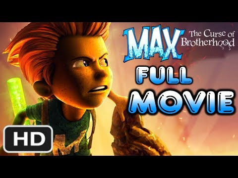 Max: Curse of the Brotherhood - FULL MOVIE [HD] (Complete Gameplay Walkthrough) XB1 Xbox 360
