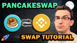 PancakeSwap Tutorial - Fees Under 50 Cents!! Binance Smart Chain