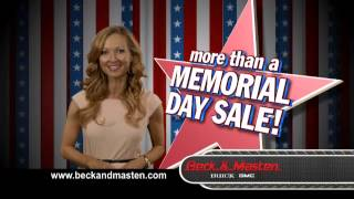 Memorial Day Marathon Sale - Beck and Masten Buick GMC