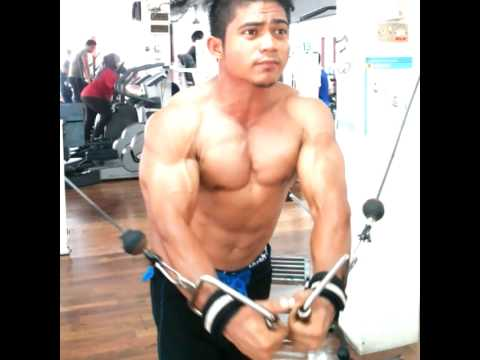 Chest cable workout - malaysia