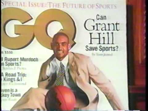 Grant Hill Interview With Bob Costas (1996)