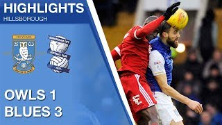 Sheffield Wednesday 1 Birmingham City 3 | Extended highlights | 2017/18