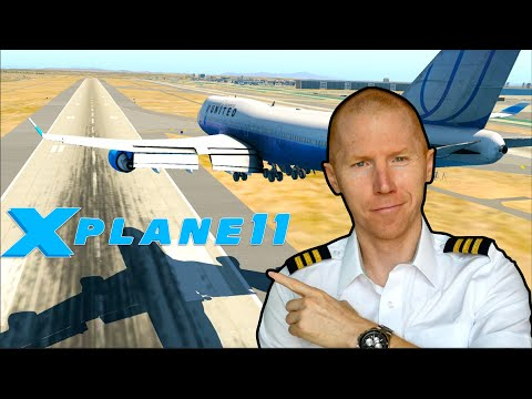 Real 747 Pilot Plays Xplane 11 | Flight Simulator