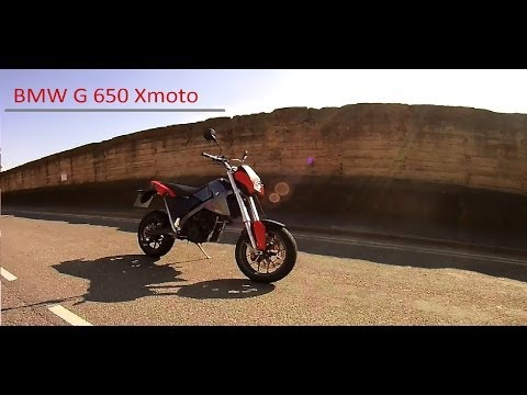 BMW G650 Xmoto test ride, thoughts and quick walk around