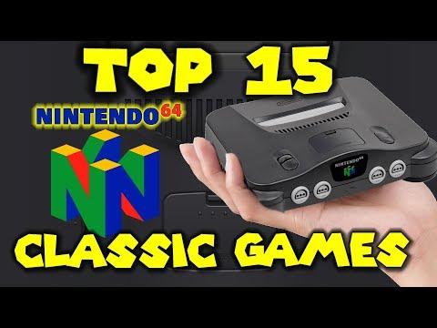 Top 15 N64 Classic Games!