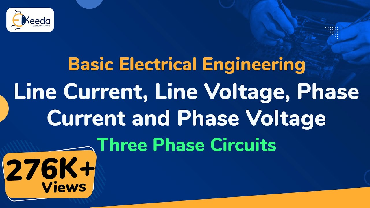 Line Current Voltage Phase And Three Picture Of The Basics Electric Circuits Threephasecircuits Basicelectricalengineering Beevideolectures