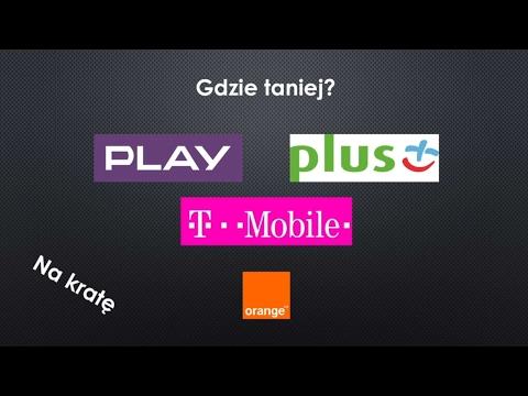 Gdzie Taniej? Którą Sieć Na Kartę Wybrać : PLAY, Plus, Orange, T-Mobile. Odc. 2