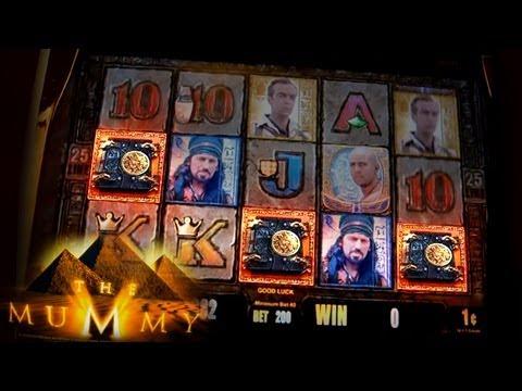 The Mummy - Live Play & Bonuses - 1c Aristocrat Slots Game - 동영상