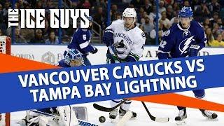Vancouver Canucks vs Tampa Bay Lightning | NHL Picks + Betting Strategy | Ice Guys