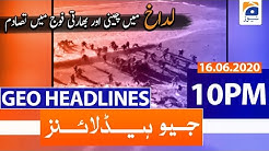 Geo Headline 10 PM | 16th June 2020