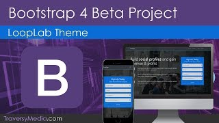 Build A Bootstrap 4 Theme | Latest Beta Version