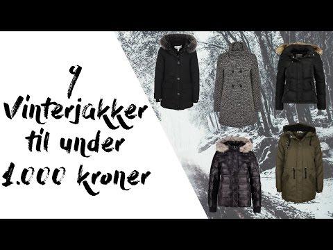 9 Vinterjakker under 1.000 kroner | Stine Jacobsen