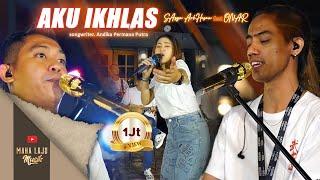 Download AKU IKHLAS - SASYA ARKHISNA  FEAT ONAR (OFFICIAL LIVE MAHA LAJU MUSIK)