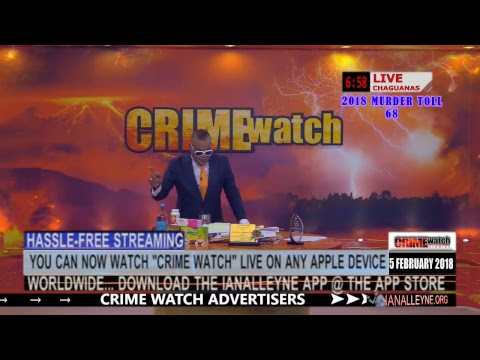 CRIME WATCH LIVE 6PM