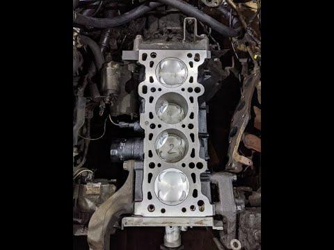 Капитальный ремонт двигателя Z5 для Mazda323