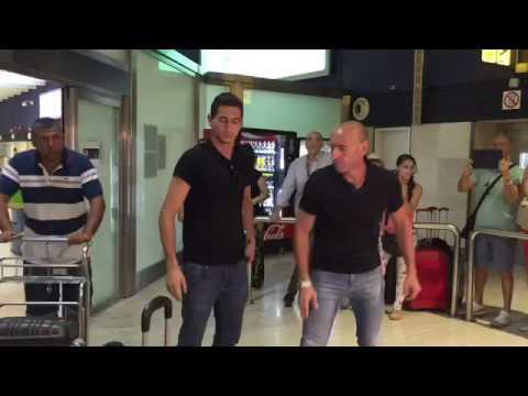Ganso llega a Sevilla