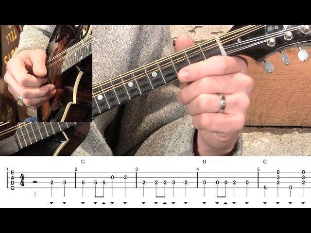 Wildwood Flower on Mandolin! Chords - Chordify