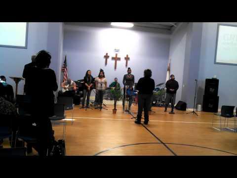 Sal lead TD Jakes Sanctuary. G..A..S..W.. Worship.