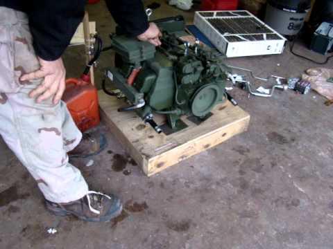 Military 4A032 engine