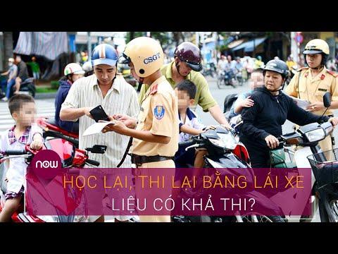 Có nên bắt buộc học lại, thi lại bằng lái xe? | VTC Now