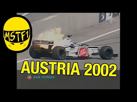 2002 Austrian Grand Prix – Mystery Science Theater F1