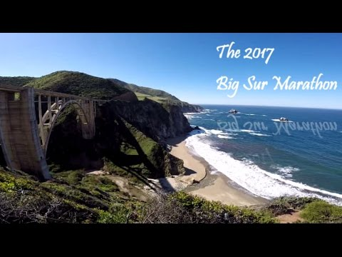 The 2017 Big Sur Marathon! - Run, JVH, Run!